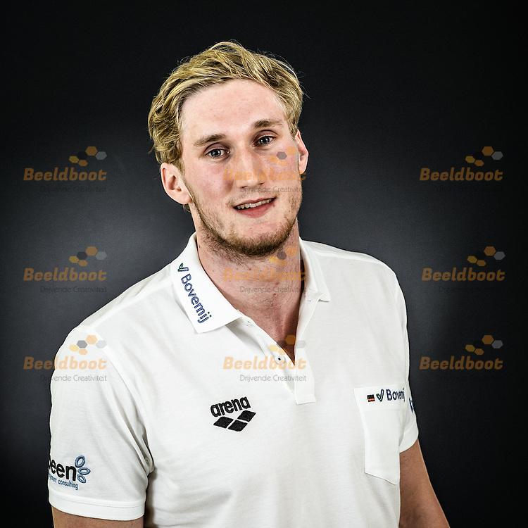 13-11-2016: Waterpolo: Portret: Oranje waterpolomannen: Zeist<br /> <br /> Jorn Muller, speler van het Nederlands mannen waterpoloteam<br /> <br /> <br /> Foto: Gertjan Kooij