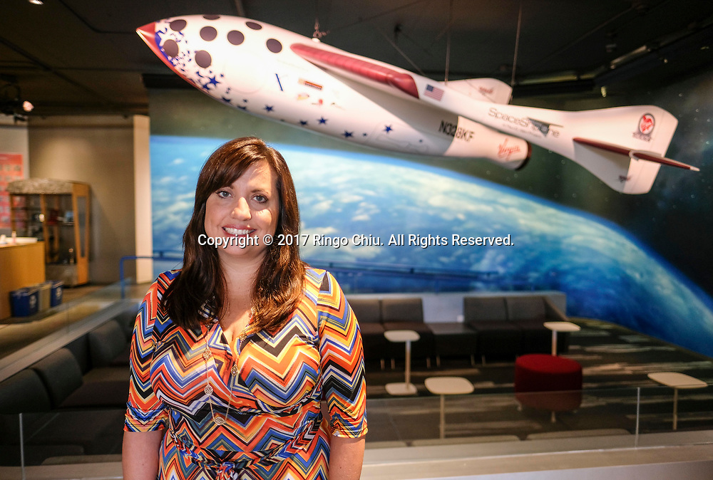 Google Lunar XPRIZE team lead, Chanda Gonzales-Mowrer. (Photo by Ringo Chiu)<br /> <br /> Usage Notes: This content is intended for editorial use only. For other uses, additional clearances may be required.