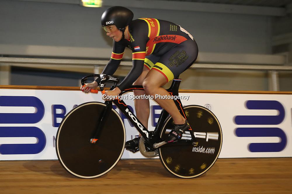 28-12-2017: Wielrennen: NK Baan: Alkmaar <br />Elis Ligtlee
