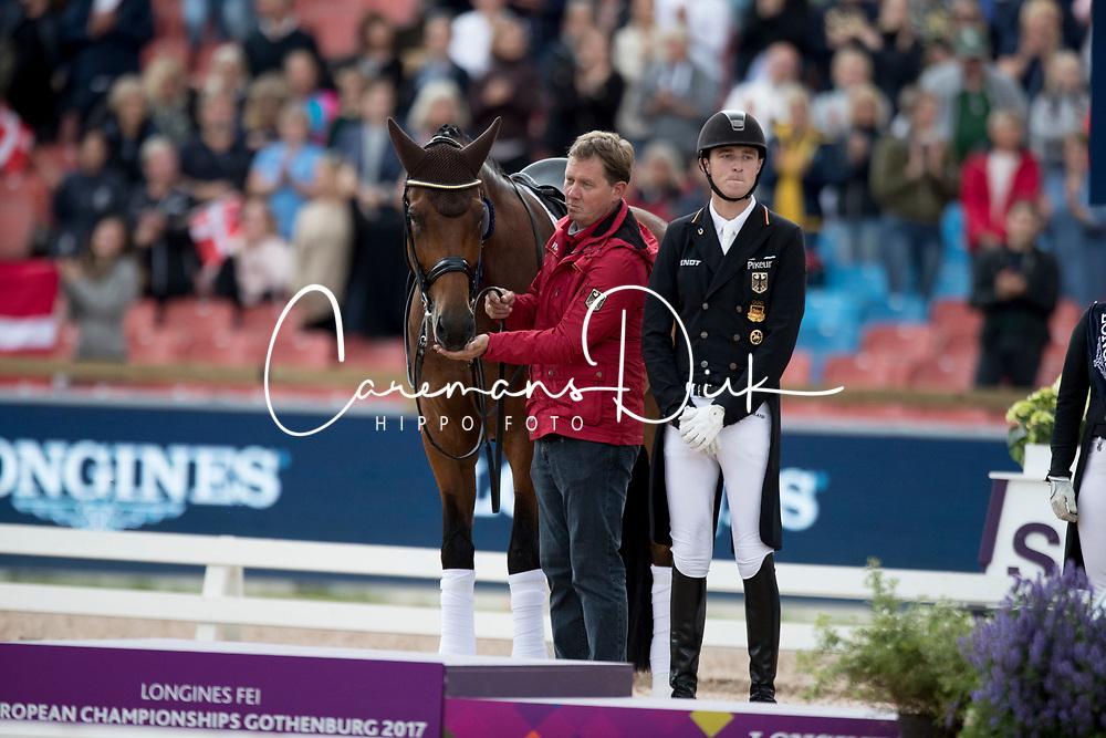 Rothenberger Soneke, GER, Cosmo 59<br /> FEI European Dressage Championships - Goteborg 2017 <br /> &copy; Hippo Foto - Dirk Caremans