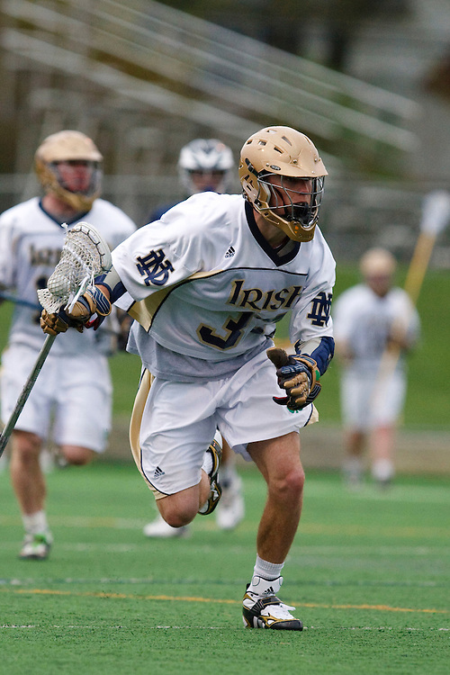 May 1, 2009:    #33 David Earl of Notre Dame in action during the NCAA Lacrosse game between Notre Dame and Quinnipiac at GWLL Tournament in Birmingham, Michigan. (Credit Image: Rick Osentoski/Cal Sport Media)
