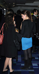 KATE MIDDLETON with her hair in a ponytail at the premier of Tenacity on the Tasman at the Odeon Leicester Square, London on 19th November 2009.