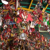 Ofrendas en capilla del Divino niño, Cordero, Tachira, Venezuela.