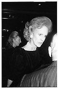 Mrs. Carhart, at party at Doubles, 11/14/88© Copyright Photograph by Dafydd Jones 66 Stockwell Park Rd. London SW9 0DA Tel 020 7733 0108 www.dafjones.com