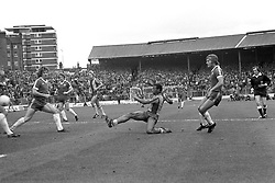 File Photo:  Former England forward Cyrille Regis has died aged 59. <br /> <br /> Cyrille Regis scores the equalising goal for West Bromwich Albion. ... Soccer - League Division One - Chelsea v West Bromwich Albion - Stamford Bridge ... 30-09-1978 ... London ... England ... Photo credit should read: Dave Benett/S&G and Barratts/EMPICS Sport. Unique Reference No. 14103844 ... Archive-590818