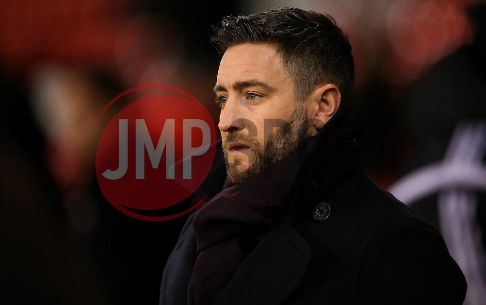 Bristol City head coach Lee Johnson - Mandatory by-line: Robbie Stephenson/JMP - 08/12/2017 - FOOTBALL - Bramall Lane - Sheffield, England - Sheffield United v Bristol City - Sky Bet Championship