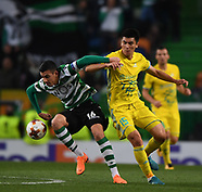 Sporting CP and FC Astana 23 Feb 2018