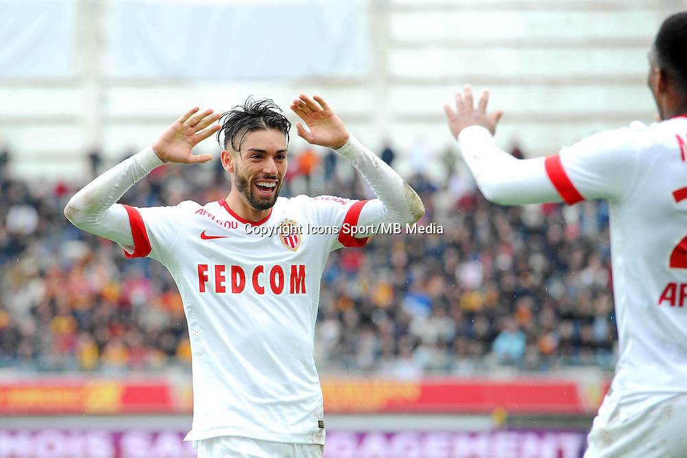Joie Yannick FERREIRA CARRASCO - 26.04.2015 - Lens / Monaco - 34eme journee de Ligue 1<br />