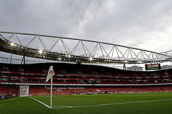 The Emirates Stadium under the clouds ahead of Arsenal vs West Bromwich Albion in The Premier League - Mandatory by-line: Robbie Stephenson/JMP - 21/04/2016 - FOOTBALL - Emirates Stadium - London, England - Arsenal v West Bromwich Albion - Barclays Premier League