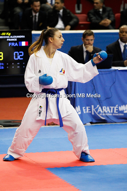 Alexandra RECCHIA - 24.01.2015 - Open de Paris - Karate Premier League -<br />