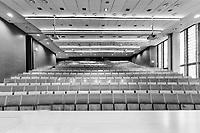 Photo of empty classroom in school