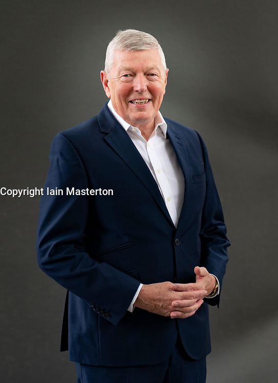 Edinburgh, Scotland, UK. 21 August 2019.Alan Johnson. <br /> The former Labour Home Secretary's new memoir, In My Life, focuses on Johnson's love of music - from Dylan to Donegan, Bowie to the Beatles. Iain Masterton/Alamy Live News.