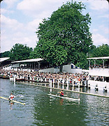 FISA World Cup 1990's, Henley Royal Regatta..Diamonds winner left Thomas LANGE, GER M1X [DDR] and vaclav CHALUPA CZE M1X, .FISA World cup events Lucerne and HRR Pictures from the first World Cup events, Men's and Women's singles Rowing Course: Henley Reach 1990/91 FISA World Cup Lucerne and
