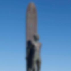 "Santa Cruz Surfer Statue ""To Honor Surfing"" Thomas Marsh and Brian W. Curtis Sculptors"