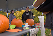 Tim Vonville, Diane Skala from Student Senate talk to students ...'Party Smart' event from noon to 4 p.m. at the Howard Hall site might make for a good Outlook photo and cutline. It shows students taking a proactive approach toward a safe Halloween street party weekend. Student Senate President Morgan Allen can add details...Thanks... STUDENT SENATE ëPARTY SMARTí EVENT. ..ìParty Smartî event from noon to 4 p.m. Monday, Oct. 23, at Howard Hall site.Sponsored by Student Senate.Invited representatives of Ohio University Police Department, Athens Police Department, Center for Legal Services and Students Defending Students.Encourage students to attend.Focus: Strengthen relationship and encourage interaction between Ohio University students and law enforcement officers and let students know how to have fun while being responsible members of the community..Want students to know their rights and responsibilities as members of the Ohio University and Athens communities. Students can gain much from living in Athens and also have much to contribute to the community..Also will have opportunity to discuss the ramifications of inappropriate behavior.Event includes food, hot chocolate and events such as cornhole.This is this the second event of this type. The first was held during spring of 2006