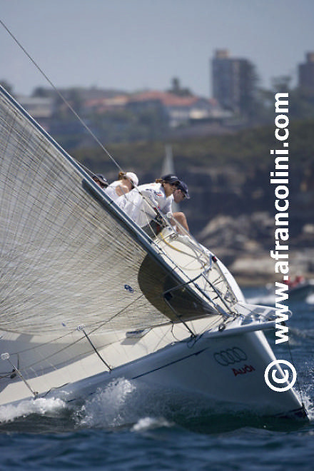 SAILING - Audi Sydney Harbour Regatta 2007, Middle Harbour Yacht Club, Sydney (AUS) - 03/03/07 - YOU'RE HIRED - ph. Andrea Francolini/AUDI
