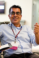 Vassar professor of English, journalist, and author Amitava Kumar