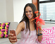 Misty Copeland unveils a Barbie doll in her likeness to show girls they can be anything, Monday, May 2, 2016, in New York. Copeland, the first African-American female principal dancer with American Ballet Theatre, has been a role model to fans throughout her career.  (Diane Bondareff/Invision for Barbie/AP Images)