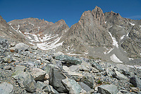 Upper Titcomb Basin, Bridger Wilderness, Wind River Range Wyoming