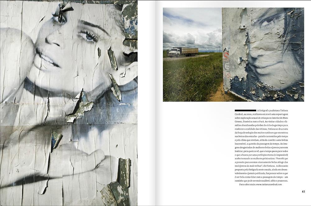 &quot;Temporal Beauty&quot; / Essay<br /> Natura - Para Quem se Importa <br /> iPad - Mar&ccedil;o/Abril, 2011