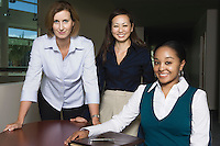 Multi Racial Group of Businesswomen