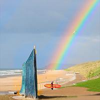 rainbow on the North Coast