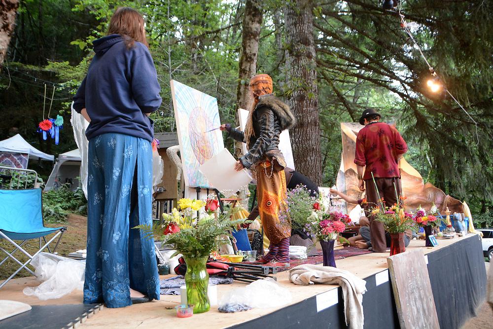Amanda Sage at Beloved Sacred Arts Festival 2013