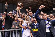 DESCRIZIONE : Final Eight Coppa Italia DNC IG Cup RNB Rimini 2015 Finale Basket Scauri - Alianz San Severo<br /> GIOCATORE : Andrea Lombardo<br /> CATEGORIA : Ritratto Esultanza Tifosi Coppa<br /> SQUADRA : Basket Scauri<br /> EVENTO : Final Eight Coppa Italia DNC IG Cup RNB Rimini 2015<br /> GARA : Basket Scauri - Alianz San Severo<br /> DATA : 08/03/2015<br /> SPORT : Pallacanestro <br /> AUTORE : Agenzia Ciamillo-Castoria/L.Canu