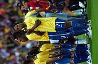 Photo: Tony Oudot.<br /> England v Brazil. International Friendly. 01/06/2007.<br /> Ronaldinho of Brazil claps the fans before the game