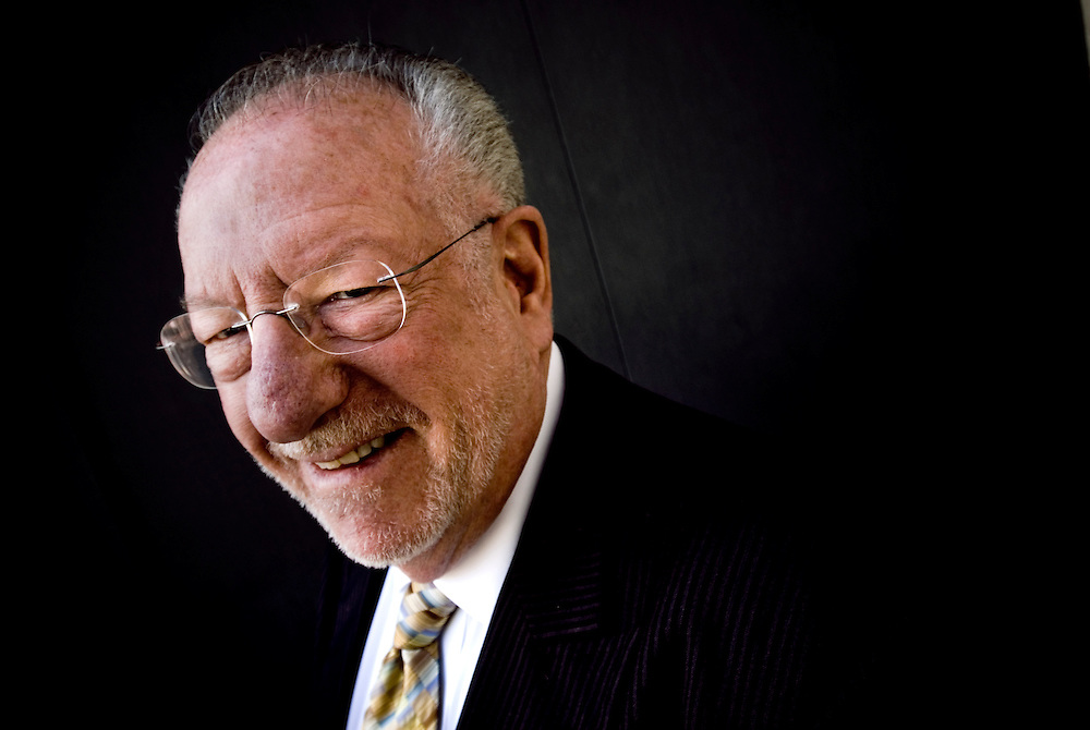 They Mayor of Las Vegas, Oscar Goodman..Photographer: Chris Maluszynski /MOMENT