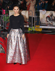 Israeli US actress Natalie Portman as she arrives for the World Premiere of her latest film Thor The Dark World.  in London's Leicester Square, England, United Kingdom. Tuesday, 22nd October 2013. Picture by Max Nash / i-Images