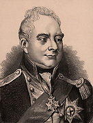 William IV (1765-1837) king of Great Britain from 1830; third son of George III, uncle of Victoria.  Member of the Hanoverian dynasty. Wood engraving c1900.