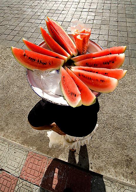 Watermelon Vendor.Leon.Nicaragua