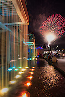 Smale Park Fireworks and Waterfall