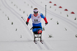 MURYGIN Grigory, RUS at the 2014 IPC Nordic Skiing World Cup Finals - Middle Distance