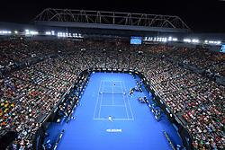 January 18, 2018 - Melbourne, AUSTRALIA - Rod Laver Arena (Credit Image: © Panoramic via ZUMA Press)