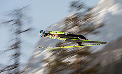 21.03.2015, Planica, Ratece, SLO, FIS Weltcup Ski Sprung, Planica, Finale, Skifliegen, Team, im Bild Michael Hayboeck (AUT) // during the Ski Flying Team Competition of the FIS Ski jumping Worldcup Cup finals at the Planica in Ratece, Slovenia on 2015/03/21. EXPA Pictures © 2015, PhotoCredit: EXPA/ JFK