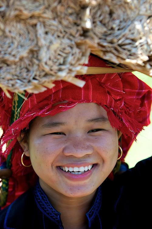 Pa O woman, Inle Lake, Myanmar.