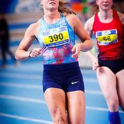 NLD/Apeldoorn/20180217 - NK Indoor Athletiek 2018, Dafne Schippers, Evelien Bos