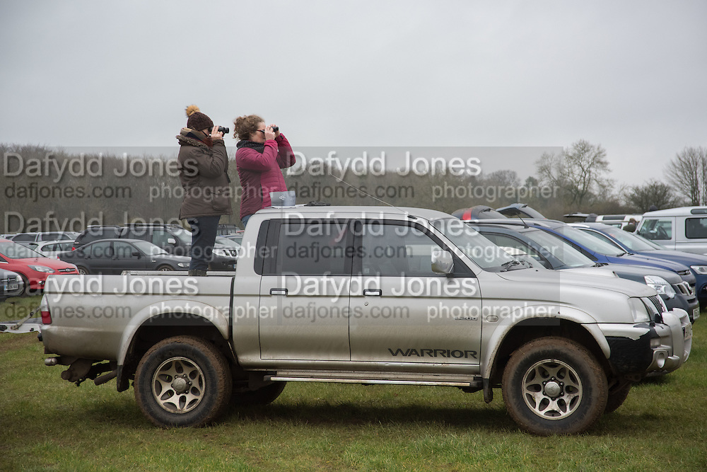 DIERDRE HAIGH; JULIE BEESLEY, , The Heythrop Hunt Point to Point. Cocklebarrow. 24 January 2016