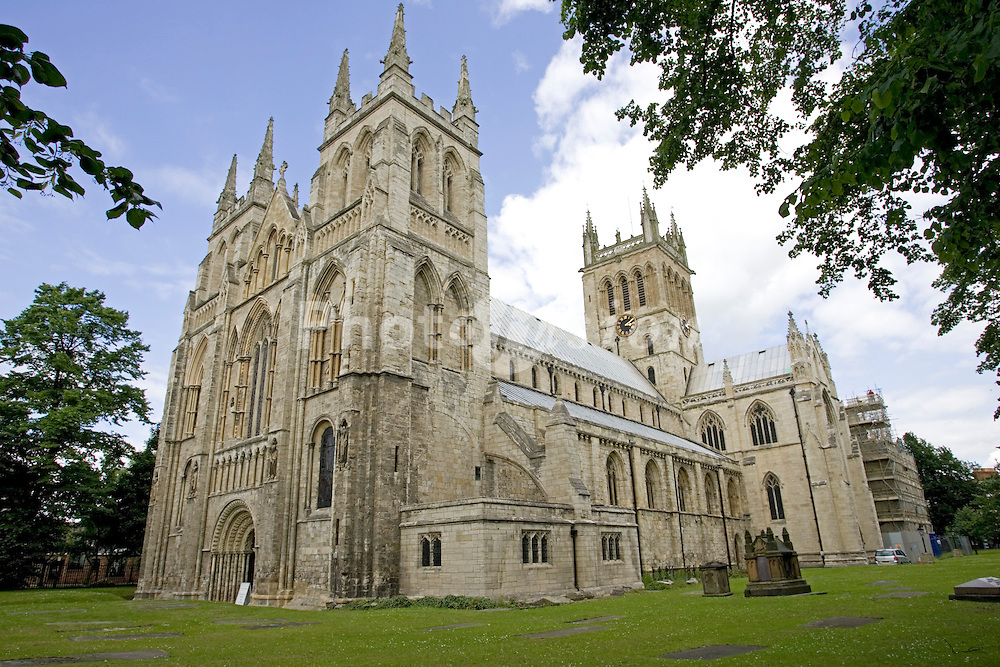Selby Abbey Yorkshire UK