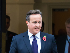 2015-11-10 David Cameron arrives at Chatham House to outline EU demands