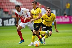 26-08-2018: Voetbal: FC Utrecht v VVV Venlo: Voetbal: Utrecht<br /> Danny Post #6 of VVV Venlo, Urby Emanuelson #28 of FC Utrecht, Moreno Rutten #2 of VVV Venlo