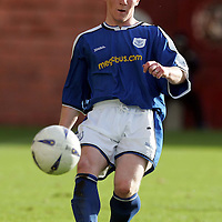 Clyde v St Johnstone...02.10.04<br />Mark Baxter<br /><br />Picture by Graeme Hart.<br />Copyright Perthshire Picture Agency<br />Tel: 01738 623350  Mobile: 07990 594431