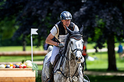 THOMSEN Peter (GER), Charisma Th<br /> Wiesbaden - Longines Pfingstturnier 2019<br /> Veronika Dyckerhoff Gedächtnis-Preis <br /> Wertungsprüfung für den U25-Förderpreis Vielseitigkeitsreiten 2019<br /> CCI4*-S <br /> Teilprüfung Gelände<br /> 08. Juni 2019<br /> © www.sportfotos-lafrentz.de/Stefan Lafrentz