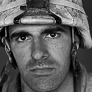 U.S. Marine Lt. Jack Treptow age 25 who is part of Alpha Company of the 24th Marine Expeditionary Unit (MEU) Battle Landing Team (BLT) 1/6, after a patrol in Garmsir District, Helmand Province, Afghanistan at Forward Operating Base Apache North. Located in Southern Helmand Province, Garmsir has been a haven for insurgents for the last several years. Earlier this year the Marines cleared the area after a period of heavy fighting. Jack is from Homewood IL and he has also done a tour of Iraq in addition to this tour.