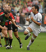 Northampton, GREAT BRITAIN, Baths Jonny FAAMATUAINU, Northampton Saints vs Bath Rugby, in the Guinness Premiership Rugby match, at  Franklin's Gardens, Northampton, ENGLAND on 16/09/2006 [Photo, Peter Spurrier/Intersport-images].