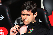 Picture by Daniel Chesterton/Focus Images Ltd +44 7966 018899.16/03/2013.Southampton manager Mauricio Pochettino during the Barclays Premier League match at the St Mary's Stadium, Southampton.