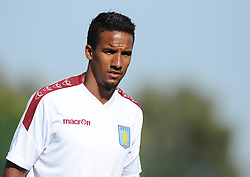 Aston Villa's Scott Sinclair  - Photo mandatory by-line: Joe Meredith/JMP - Mobile: 07966 386802 - 17/07/2015 - SPORT - Football - Albufeira - Estadio Da Nora - Pre-Season Friendly