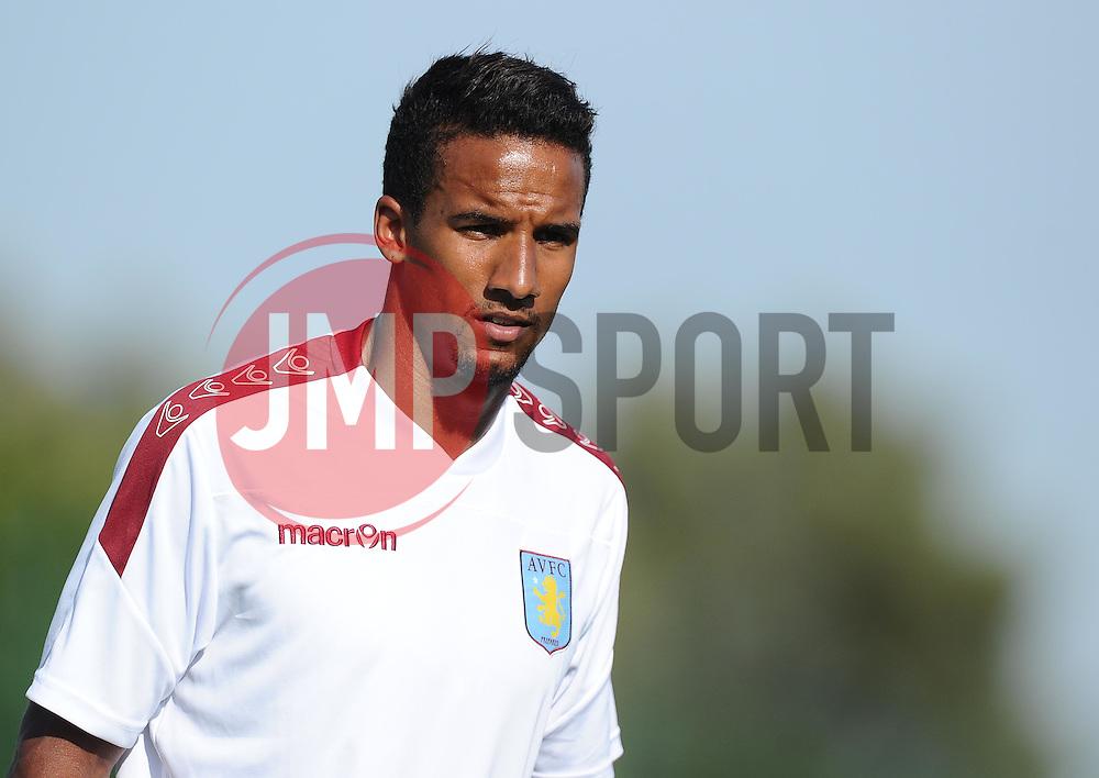 Aston Villa's Scott Sinclair  - Photo mandatory by-line: Joe Meredith/JMP - Mobile: 07966 386802 - 17/07/2015 - SPORT - Football - Albufeira - Estadio Da Nora - Pre-Season Friendly